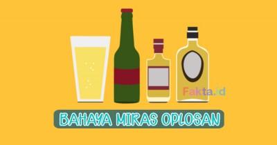 Tewaskan Warga di Tasik, Ini 12 Fakta Bahaya Minuman Keras Oplosan yang Harus Diketahui