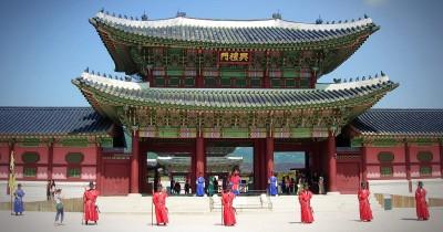 Tempat Syuting BTS dan Jimmy Fallon Ternyata Istana Warisan Budaya Korea