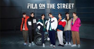 BTS x FILA On The Street, Mulai dari RM hingga Jungkook Keren Banget