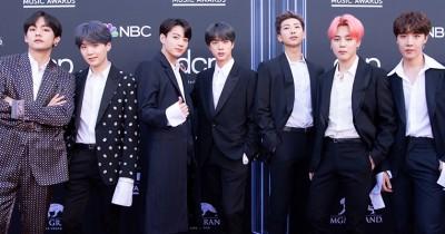 Tulisan Korea di Foto BTS Bertema Billboard, Ternyata Begini Arti Terjemahannya