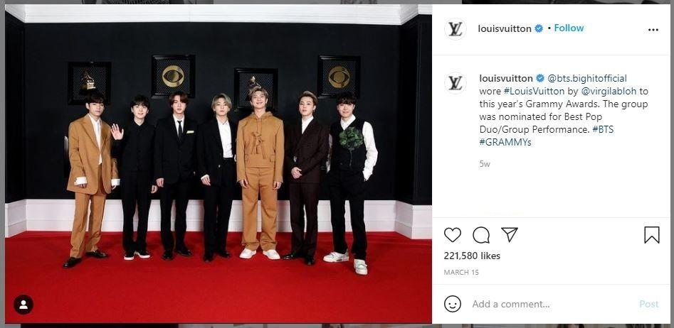 Kenapa BTS Terima Tawaran jadi Brand Ambassador Louis Vuitton?