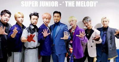 Rilis Album ke 10, Super Junior Perkenalkan Lagu baru 'The Melody'