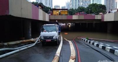 5 Fakta Underpass Kemayoran Terendam Banjir Lagi