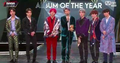 BTS Rank 1 Billboard Hot 100, ARMY Kenang Pidato RM dan Jungkook di MAMA Awards 2018
