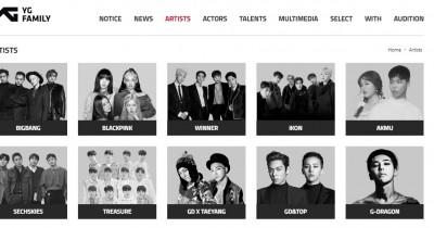 Daftar Artis YG Entertainment yang Masih Aktif Kontraknya sampai Sekarang