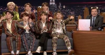 Penuh Keberuntungan, The Tonight Show Cetak Rekor 'Most Social Week' Berkat BTS