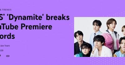 YouTube Resmi Umumkan BTS Dynamite Cetak Rekor 'MV Premiere' dengan Penonton Terbanyak