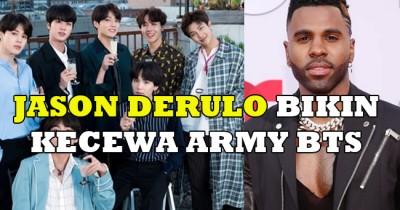Jason Derulo Bikin Kecewa ARMY BTS soal Pencapaian Savage Love di 'Billboard Hot 100'
