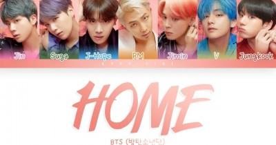 Lirik Lagu BTS Home Lengkap dengan Arti Terjemahannya