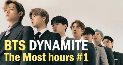 Rekor Terbaru Lagu BTS Dynamite di Major Korean Music Platforms