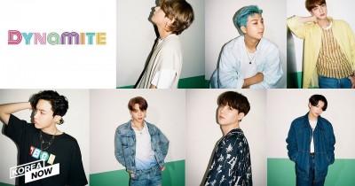 Big Hit Rilis Foto Teaser Grup BTS 'Dynamite' yang Pertama