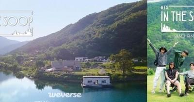 Foto-Foto BTS di 'In The SOOP', Ada yang Baca Buku hingga Menikmati Pemandangan Danau