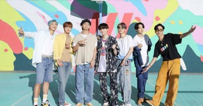 BTS dapat Penghargaan MTV VMA Japan dengan Kategori 'International Best Group Video' lewat Dynamite