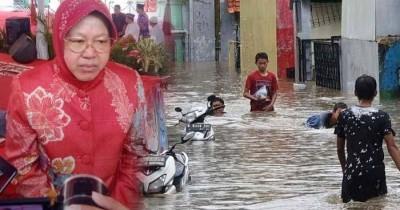 9 Fakta Banjir Surabaya hingga Bikin Tri Rismaharini Turun Langsung ke Lapangan