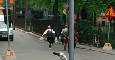 Makan di Kafe Swedia, Member BTS Lari Dikejar ARMY yang Mengincarnya