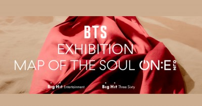 Foto BTS Exhibition Map of The Soul ON:E yang Beredar di Twitter