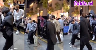 Member BTS Kunjungi Pop Up Store di Seoul Hari Ini, Begini Foto-fotonya