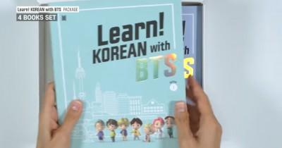 Learn Korean with BTS Dirilis Big Hit, Ini Pesan Member Bangtan Boys yang Bikin ARMY Meleleh