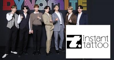 Big Hit Entertainment Tandatangani Kerjasama dengan Instant Tattoo Bertema Lagu BTS