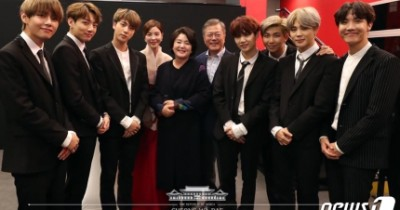 BTS Datang ke Blue House, Bertemu Presiden Moon Jae In