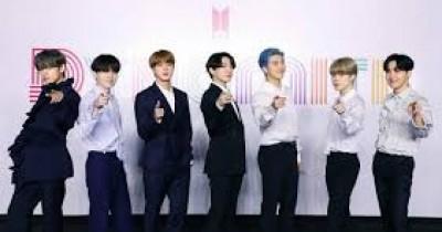 Potret Foto 7 Anggota BTS di Press Conference 'BTS Dynamite' Comeback