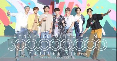 BTS 'Dynamite' jadi MV Tercepat Raih 500 juta Penayangan di YouTube