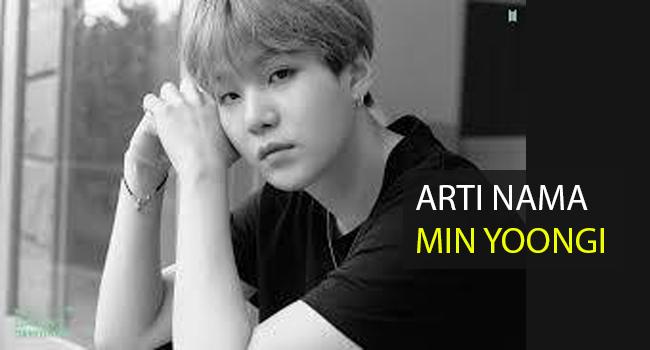 Arti Nama Suga BTS, Makna Sebenarnya dari Kata 'Min Yoongi' yang Harus Diketahui Penggemar