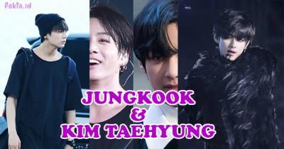 10 Potret Pesona Jungkook dan V, Dua Anggota Berwajah Tampan di BTS