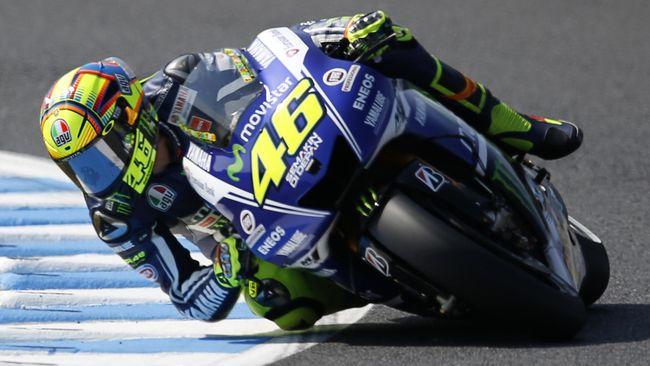 Menggunakan Nomor 46 Sepanjang Kariernya di MotoGP