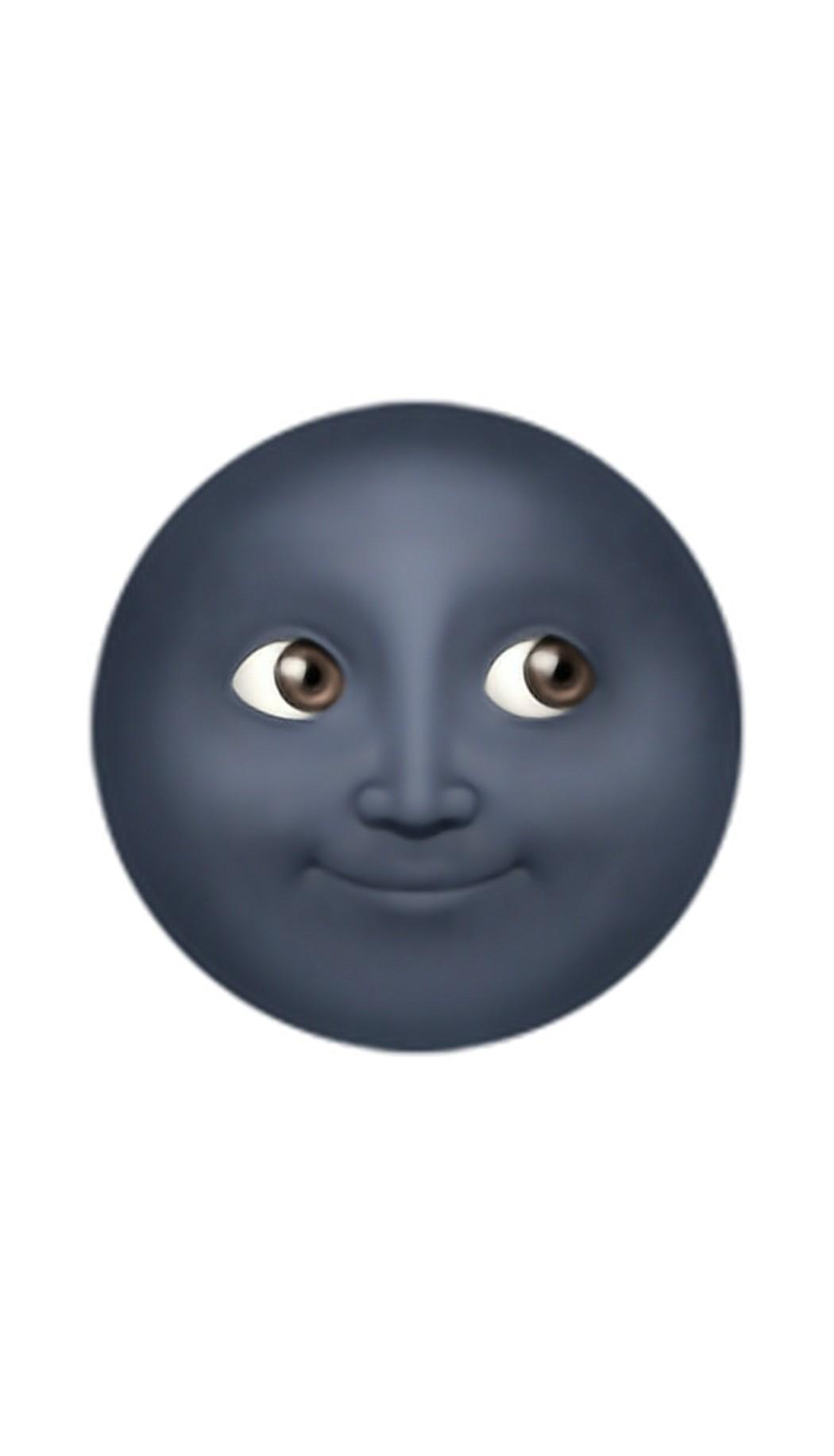 Arti Emoji Bulan Gosong