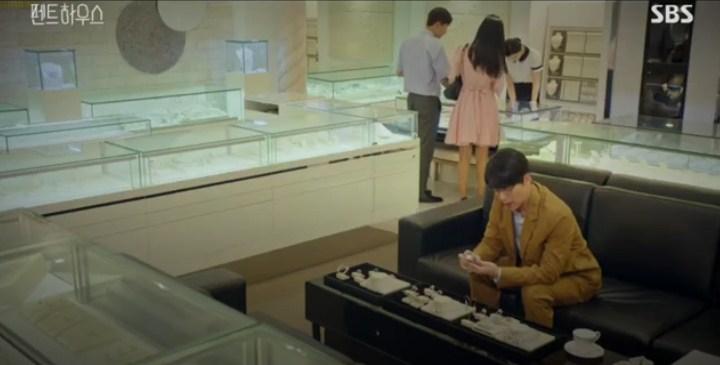 Masa Lalu Dan-tae dan Shim Su-ryeon